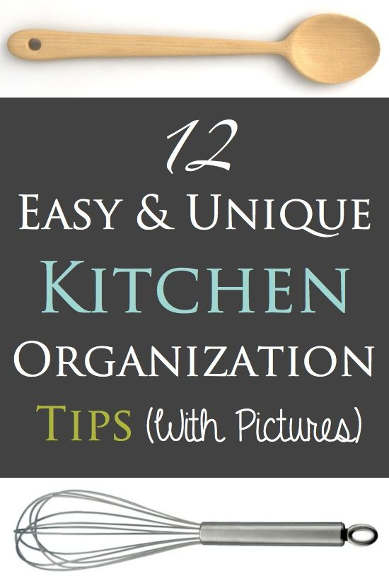 unique, easy, and affordable kitchen organization tips (with pictures) Listotic.com