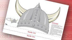 CBBC - Horrible Histories Viking Headwear