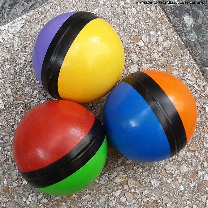 Russian Juggling Balls