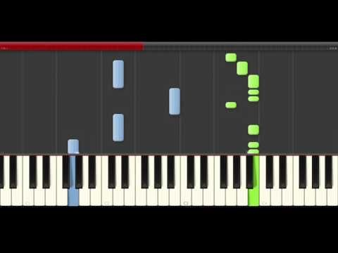 la cancion valiente en piano - YouTube