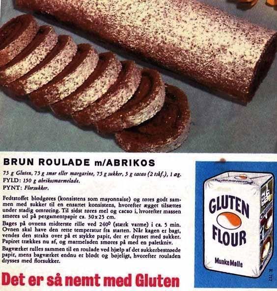 Brun roulade m/abrikos