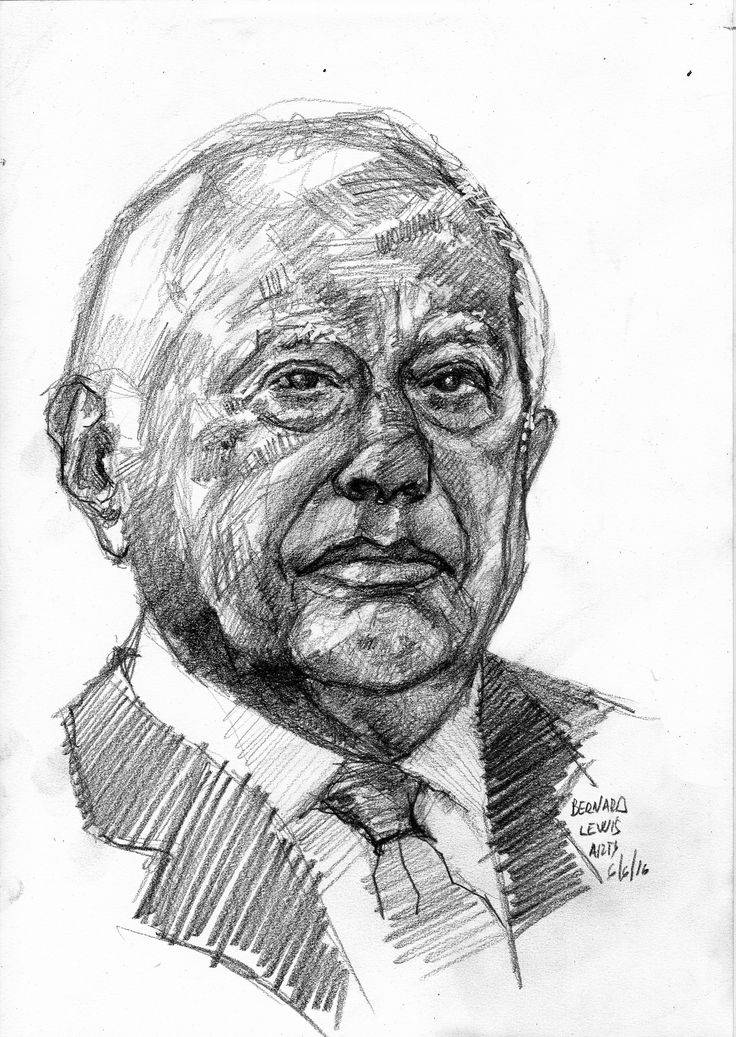 https://flic.kr/p/HTZtZ4 | Bernard Lewis for PIFAL | Pencil 4B on Fabriano