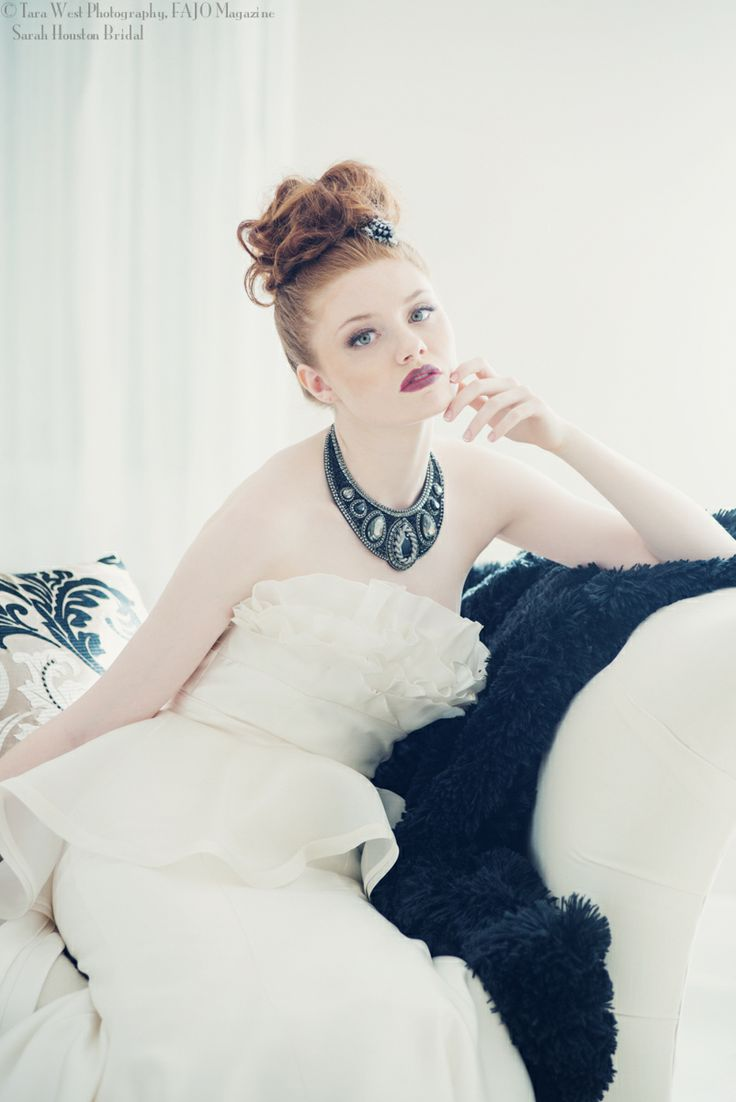 Sarah Houston Bridal Editorial, FAJO Magazine Model: Kiana Penderson Peggi Lepage, Sherrida Agency Candance French Hair