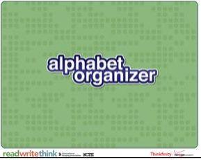 Alphabet Organiser  http://www.readwritethink.org/classroom-resources/student-interactives/alphabet-organizer-30035.html