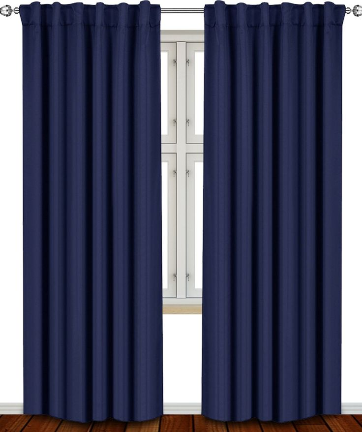 17 best ideas about navy blue curtains on pinterest navy master bedroom navy curtains bedroom. Black Bedroom Furniture Sets. Home Design Ideas