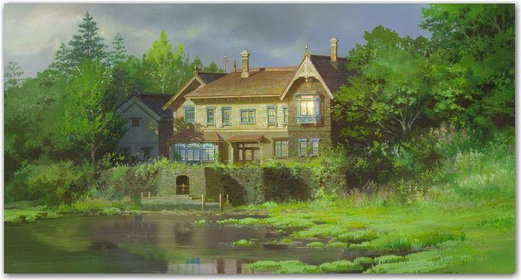 La mystérieuse maison de Marnie, ou l'art du paysage selon Ghibli.