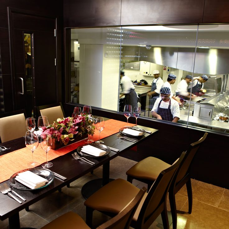 Chef's Table at Benares