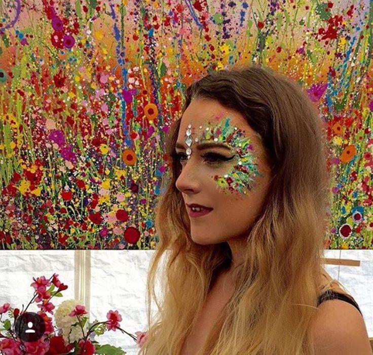 Festival glitter and jewels