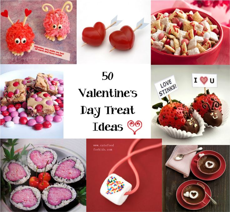 50 treat ideas for valentines day