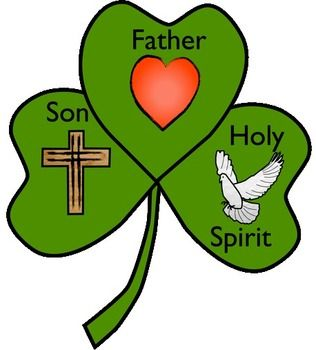 Free Shamrock template to create a craft in honor of the Blessed ...