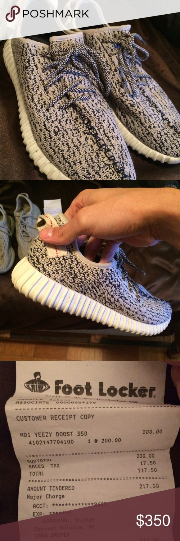 Yeezy 350 Boosts shoes These are REAL!!! (Serious inquires ONLY) i bought these retail when they first came out, clearly from the Ebay picture i posted how much they are going right now!! Willing to negotiate if its right price!! Lmk ASAP Adidas Shoes