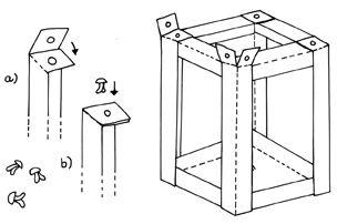 Grundmodell Karton-Laterne | Labbé Onlineshop