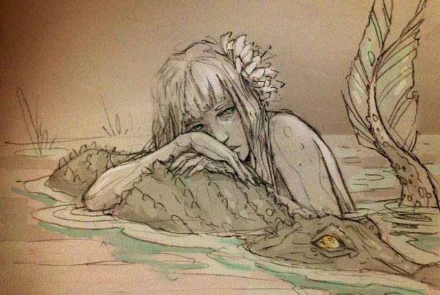 La ilustración de las cadenas bajo Chiara Bautista.