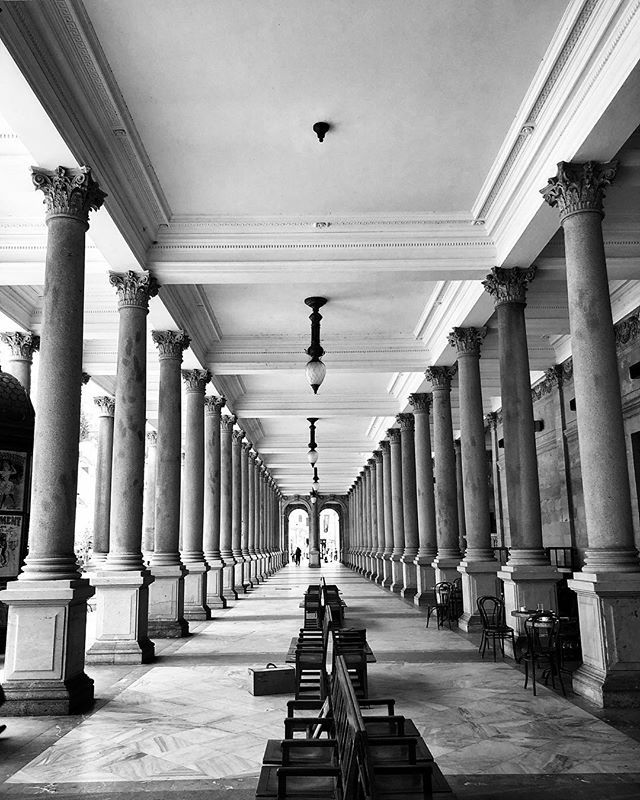 Today's office SD17/42  #iphoneography #shotoniphone #karlovyvary #colonnade #spa #igerscz #iglife #iglifecz #filmmaking #moviemaking #onset #ontheroad #travelphotography #exploretocreate #architecture #setlife #dit