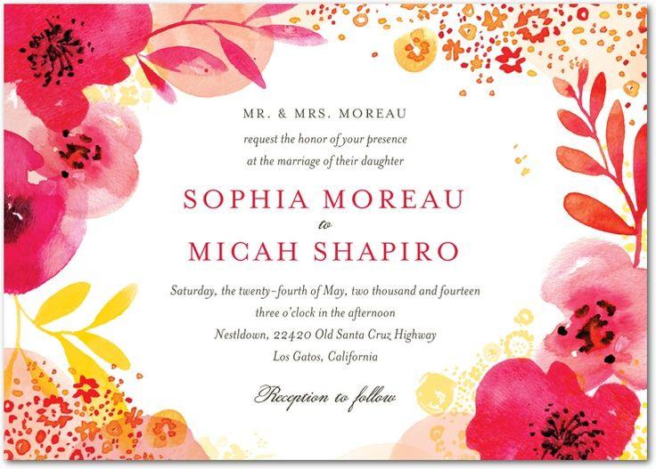 41 best wedding invitations images on Pinterest