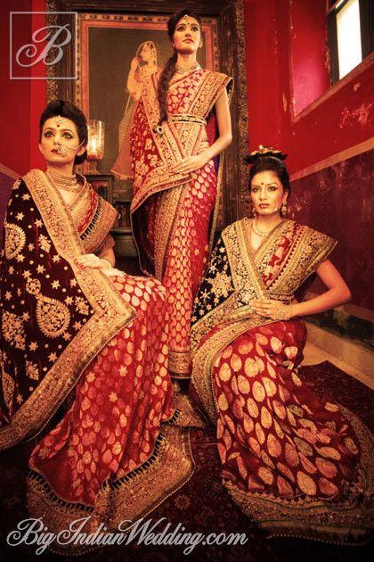 Umang Hutheesing bridal sarees