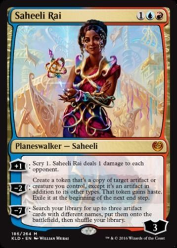 Saheeli Rai Kaladesh Magic the Gathering card