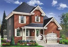 Plan de maison no. W3408 de dessinsdrummond.com