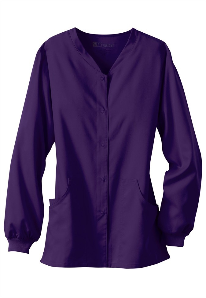 Greys Anatomy v-neck scrub jacket. - Scrubs and Beyond