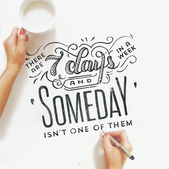 Beautiful Hand-Lettering by Jennet Liaw | Inspiration Grid | Design Inspiration