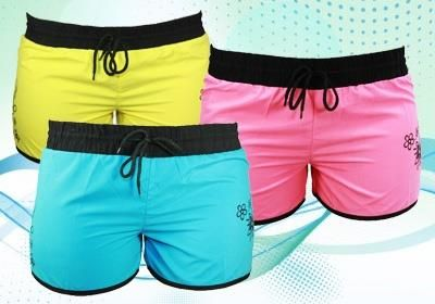 Шорты спортивные женские яркие цвета