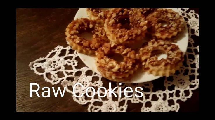 Surowe ciasteczka
