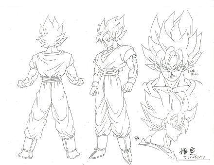 Akira Toriyama Goku Concept Art