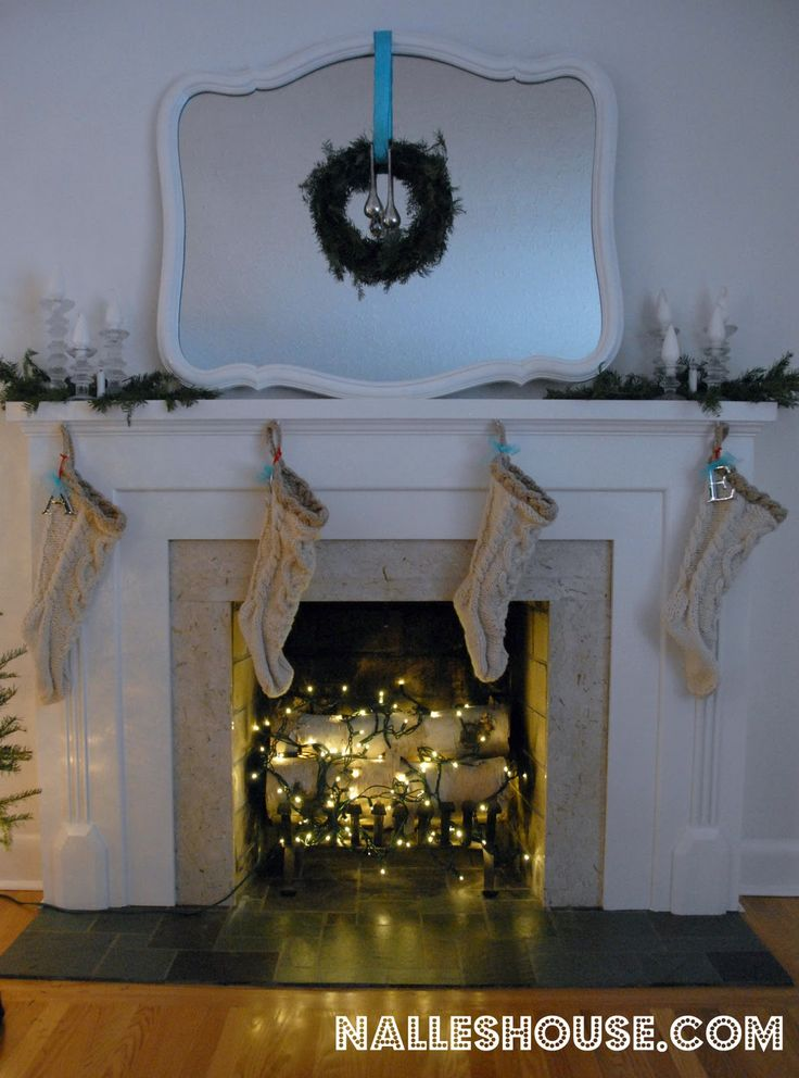 Nalle's House: a baby proof fireplace for the holidays
