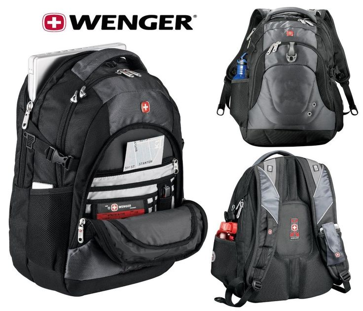 "New Wenger Tech 15"" Laptop / MacBook Pro Backpack Swissgear Compu-Backpack #SwissGear"