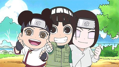 Naruto SD just being adorable.