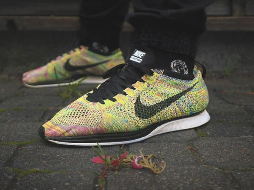 Nike Flyknit Racer 'Multicolor' - 2013 (by mr_whitestore) https://www.sneakerscartel.com/nike-flyknit-racer-multicolor-2013-by-mr_whitestore/