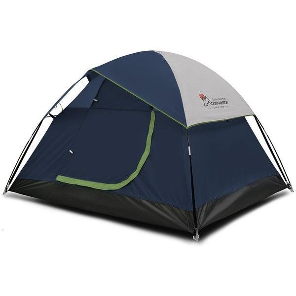 Amazon.com  Mountaintop Waterproof 2 Person C&ing Tent Backpacking... ($59) ? liked on Polyvore featuring c&ing | tents for all seasons | Pinterest ...  sc 1 st  Pinterest & Amazon.com : Mountaintop Waterproof 2 Person Camping Tent ...