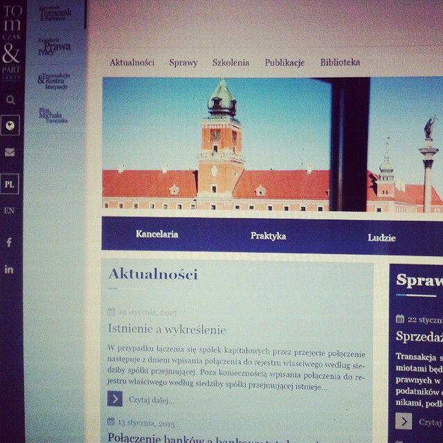 www.tomczak.pl | #website #strona #razdwaprojekt #MODX  www.razdwaprojekt.pl/portfolio/kancelaria-tomczak-and-partnerzy/