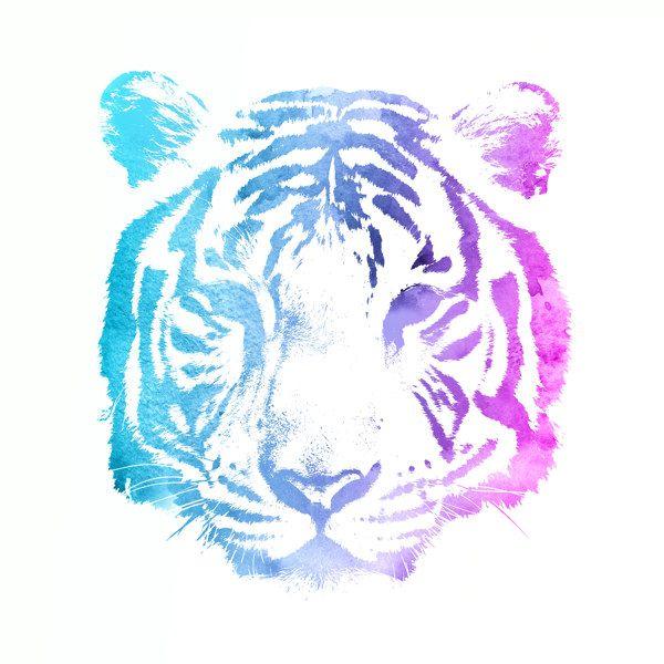 Neon Tiger | myposter Motivwelt