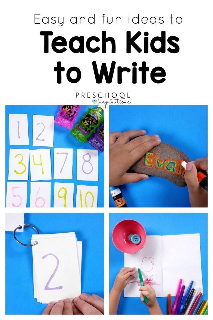 Preschool Writing Center: 4070 Best Hands-On Preschool Activities Images On