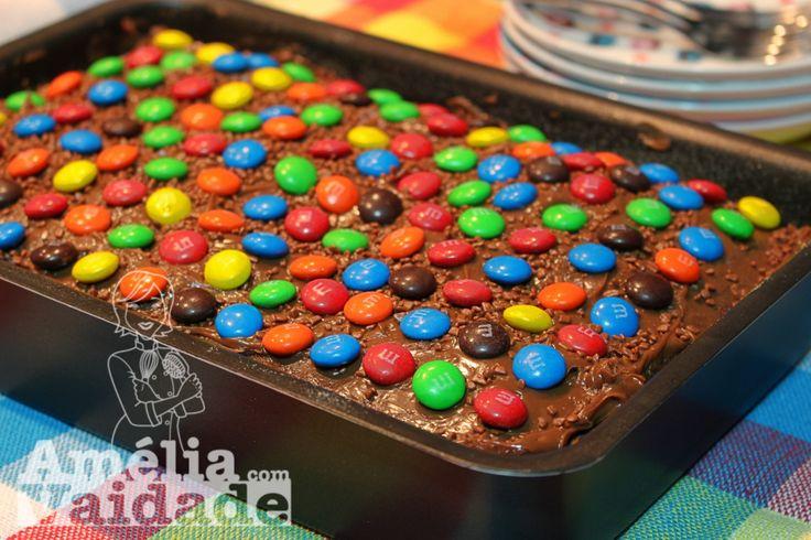Pão de Ló Básico de Chocolate - Cake wholemeal flour and cocoa
