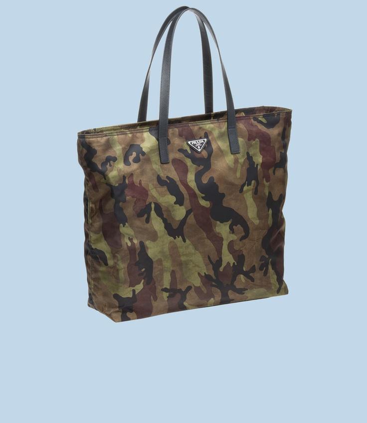prada wallet sale usa - Prada Camo Nylon Tote | CARRY | Pinterest | Nylon Tote, Prada and ...