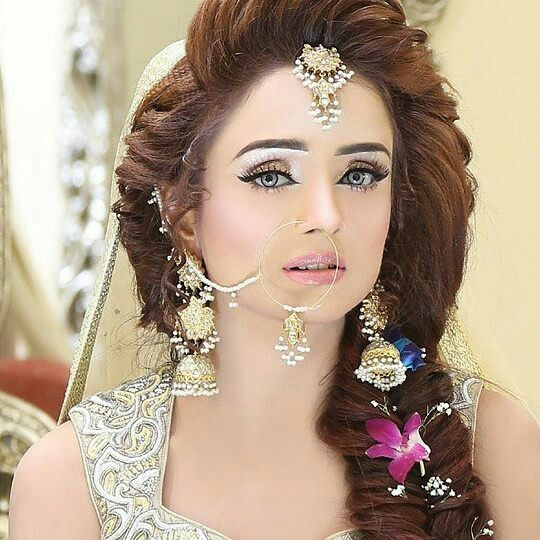 Bridal Makeup Hairstyle Images : 81 best images about kashees bridal makeup on Pinterest ...