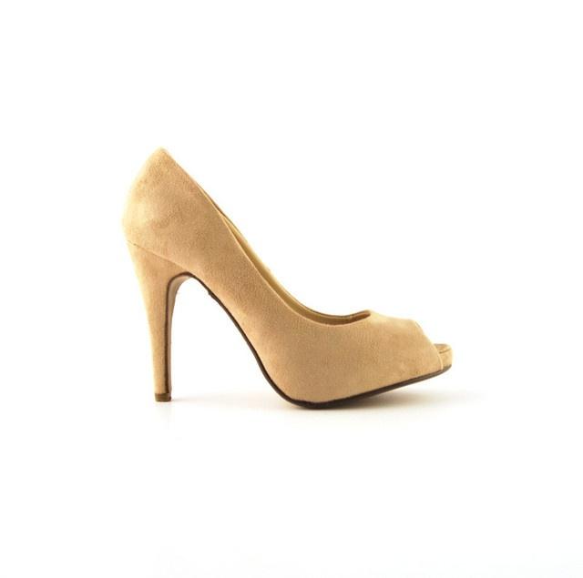 Pantofi Mark Bej >> Click pe poza pentru a vedea pretul. #pantofi #pantofisenzationali #newfashionromania #pantofiieftini