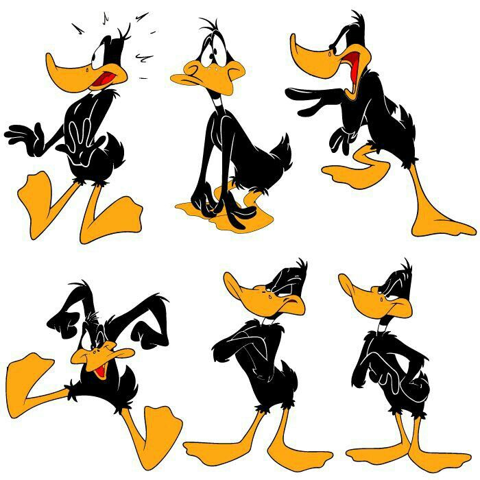 Pin By C I On Caricaturas Duck Cartoon Daffy Duck Animated Cartoon Characters
