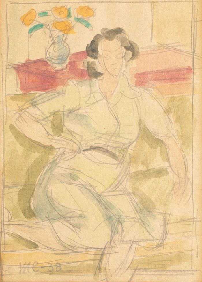 Henri H. Catargi, Femeie în interior