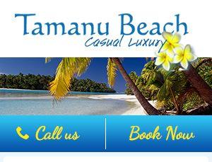 Tamanu Beach   Aitutaki Hotel/Resort Cook Islands Accommodation - Overview
