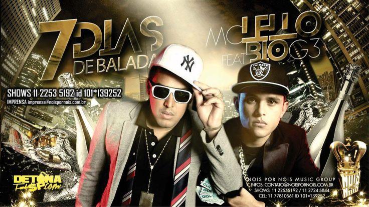 MC Lello part MC Bio G3 - 7 Dias de Balada 2 - Musica nova 2014 (NpN Stu...