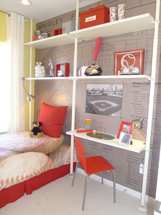 Red Boy Bedroom Design, Pictures, Remodel, Decor and Ideas - page 6