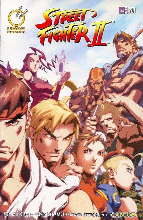 Street Fighter II 6A (2005 Udon Studios)    Street Fighter, Street Fighter II www.detoyboys.nl