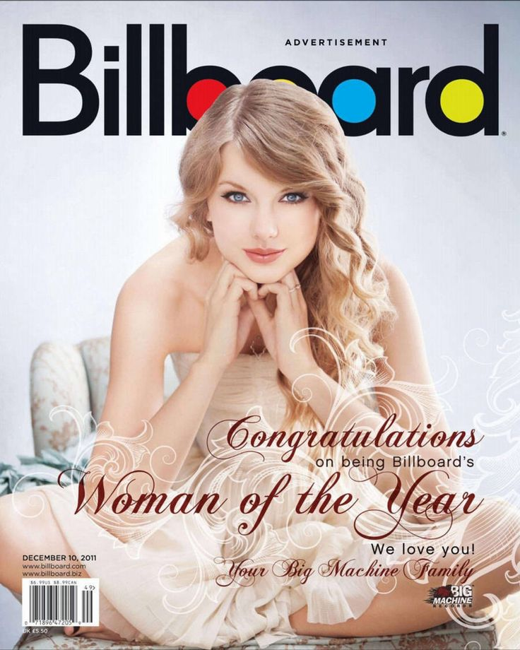 taylor swift magazine covers | Taylor Swift Covers Billboard Magazine - December 2011 in Other Pics ...