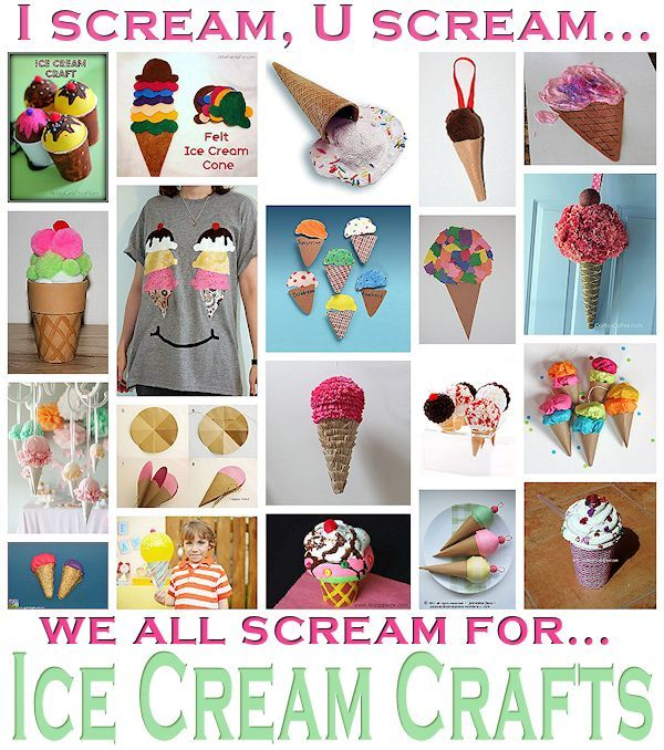20 cool ice cream crafts ice cream isn 39 t only for eating for How to make craft ideas