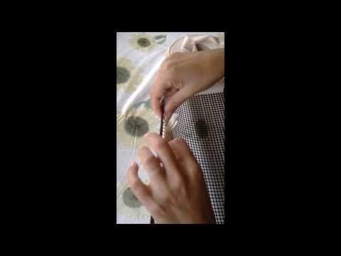 POCHETTE RETE TUTORIAL - YouTube