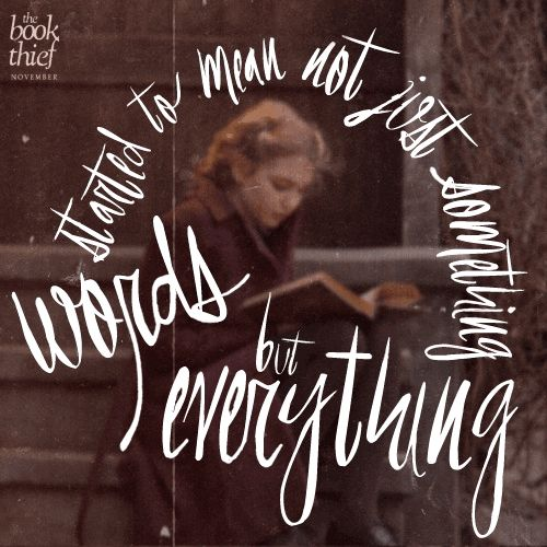 book thief quotes The power of words is never more evident than in the masterful narrative by death in the 'the book thief' ranked #18 on my all-time books list.