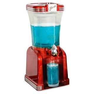 Slushie maker. Although, that depends on summer actually arriving! Available at a very reasonable £62.99 from Firebox